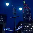 Lights on Broadway by andykazie