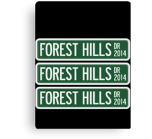 2014 Forest Hills Drive Canvas Print
