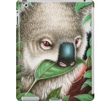 Cute Koala Munching a Leaf iPad Case/Skin