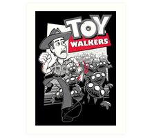 Toy Walkers Art Print
