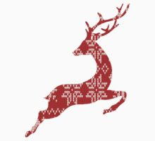 Ugly Christmas Sweater Reindeer by MayaZ