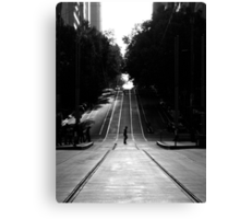 J Walking Canvas Print
