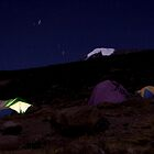Kilimanjaro at night by macmichael