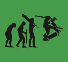 evolution of skateboard t-shirt Kids Clothes