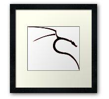 Kali linux ultimate logo [UltraHD] Framed Print