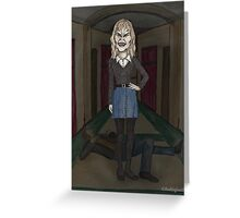 Welcome to the Hellmouth - Darla  Greeting Card