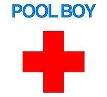 Pool Boy Red Cross Design by RexLambo