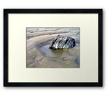 Rock Pool Framed Print