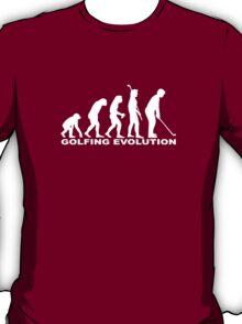 Golfing Evolution T-Shirt