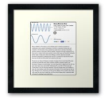 Music Review Framed Print