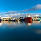 Fishing boats at Fremantle by Renee Hubbard Fine Art Photography