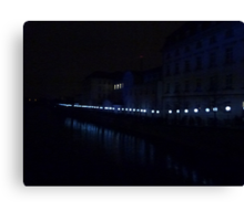 Mauerfall lights for remembrance - 2 Canvas Print