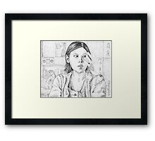 Out of Mind, Out of Sight - Marcie - BtVS Framed Print