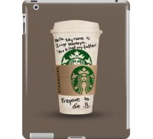 Inigo's Coffee iPad Case/Skin