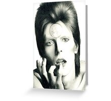 Ziggy Stardust - David Bowie Greeting Card