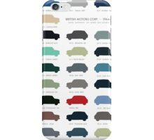 Austin Mini classic - 60's original colours  iPhone Case/Skin