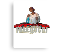 FREE GUCCI Canvas Print