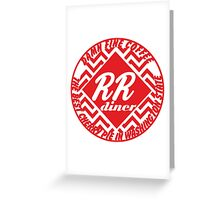 Double R Diner Greeting Card