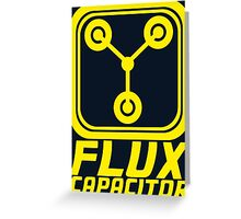 Flux Capacitor - Back to the Future Greeting Card