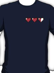8-Bit Hearts - Legend of Zelda T-Shirt