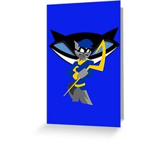 Sly Cooper Greeting Card