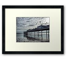 Paignton Pier Framed Print