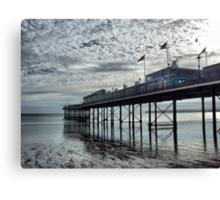 Paignton Pier Canvas Print