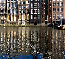 Amsterdam reflections by kevomanno