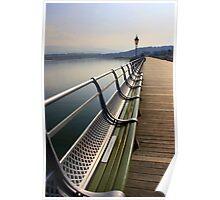 Bangor Pier, North Wales Poster