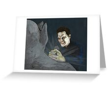 Becoming, Part Two - Angelus - BtVS Greeting Card