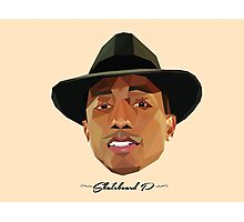 Skateboard P Polygons  Photographic Print