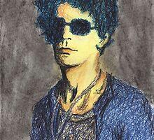 Lou Reed Portrait by Brooke Donlan