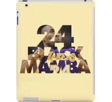 Kobe 24 Black Mamba Bryant iPad Case/Skin