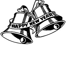 Happy New Year Bells by cartoon