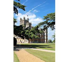 Downton Abbey Photographic Print