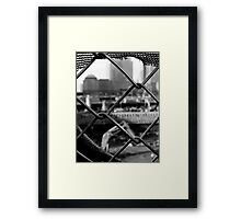 The Last Clock Started Ticking Framed Print