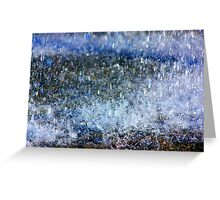 The Beauty of Rain Greeting Card