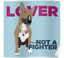 Roxy the Bull Terrier Poster