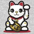 Maneki Neko - Money Cat - ¥€$ by mikoto
