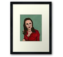 Enemies - Faith - BtVS Framed Print