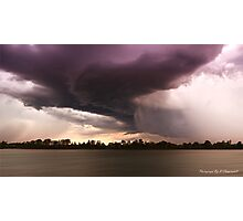 Taree storm 0001 Photographic Print