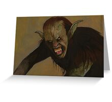 The Prom - Hellhound - BtVS Greeting Card