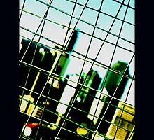 caged urbania by Michael A. Morrison