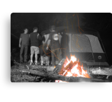 Campers Canvas Print