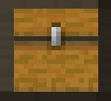 Minecraft Chest by janeemanoo