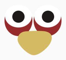 Minimalist Angry Birds - Blue Bird Kids Clothes
