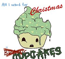 All I Want for Christmas is CUPCAKES [Zombi] by AngaelWing