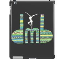 DMB Firedancer Aztec with black background iPad Case/Skin