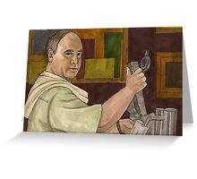 Beer Bad - Bar Owner - BtVS Greeting Card