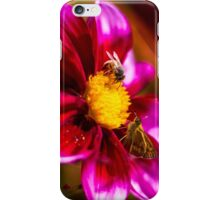 The Bees and the Butterflies iPhone Case/Skin